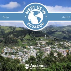 Meet us in Ecuador