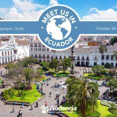 Meet us in Ecuador