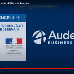 Sreejith from India is Eiffel Scholarship recipient 2020!