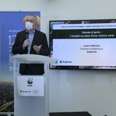 Audencia & WWF Event: Recovery and Ecological Transition