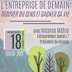 ENAC'TALK #4 - Conférence/débat avec NICOLAS MÉTRO
