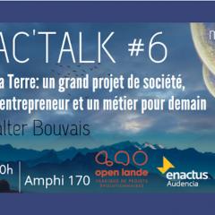 Enac'talk #6 - Conférence de Walter Bouvais