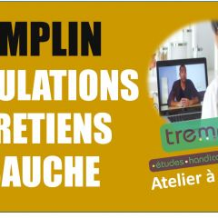 TREMPLIN : Atelier de coaching d'entretiens à distance