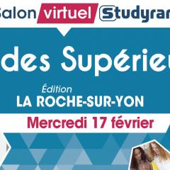 SALON VIRTUEL STUDYRAMA ETUDES SUPÉRIEURES - LA ROCHE S/YON