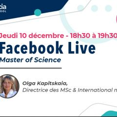 FACEBOOK LIVE / PROGRAMMES MSC & INTERNATIONAL MASTER