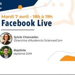 FACEBOOK LIVE - MARDI 7 AVRIL