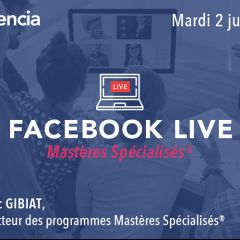 [OnLine] Soirée d'information Facebook Live - Programmes MS®