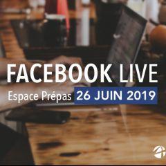 Facebook Live Espace Prépas
