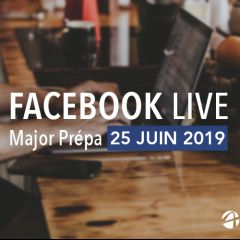 Facebook Live Major Prépa