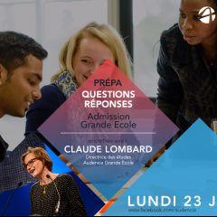 Live Facebook Grande École admissions Prépas