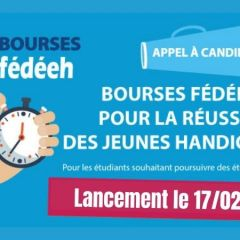 Lancement de l'appel à candidatures pour les bourses FEDEEH