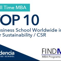 Audencia in the Top 10 worldwide ranking for CSR