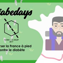 Diabedays : traverser la France à pied pour 2 étudiants