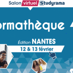 SALON VIRTUEL STUDYRAMA FORMATHÈQUE - NANTES