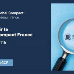 Webinaire pour découvrir le Global Compact France