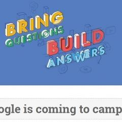 Google is coming to Campus