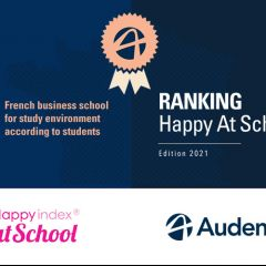 Classement HappyAtSchool® 2021 :  Audencia N°2 des écoles de commerce