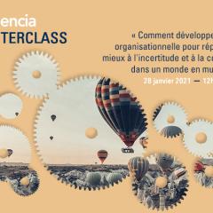 Participez à la prochaine MasterClass Audencia