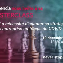Audencia vous convie à sa prochaine MasterClass