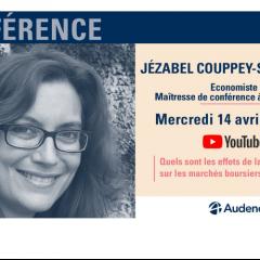 Conférence Isegoria avec Jézabel Couppey-Soubeyran, économiste et conseillère scientifique à l'Institut Veblen