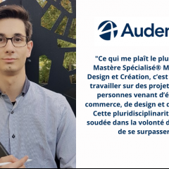 Découvrez le témoignage de Florian, étudiant du MS® Marketing, Design et Création