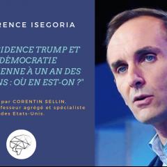 Conférence Iségoria - Corentin Sellin