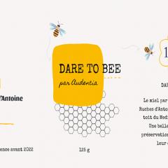 Résultats concours : l'étiquette du miel audencia