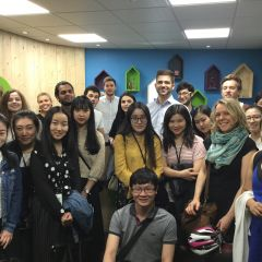 IMM students visit iAdvize, a pioneer FrenchTech start-up