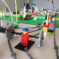 Atelier LEGO®SERIOUS PLAY® avec la chaire REALITES