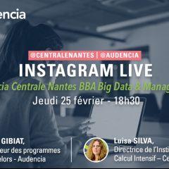 Insta Live : Questions-Réponses sur le BBA Big Data & Management