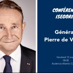 Conférence Isegoria avec le Général Pierre de Villiers