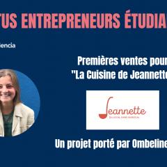 Premières ventes pour les produits Jeannette !
