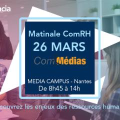 Audencia accueille la Matinale ComRH