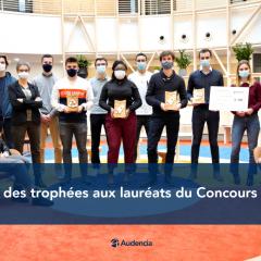 Remise des trophées aux lauréats du Concours Audace