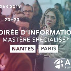 Soirée d'information MS® [Campus Nantes + Campus Paris]