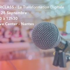 Transformation digitale : La MasterClass de votre rentrée !