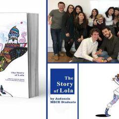 L'histoire de Lola , l'oeuvre des étudiants du Master MECE