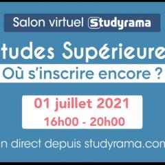 SALON VIRTUEL STUDYRAMA DES ETUDES SUPÉRIEURES