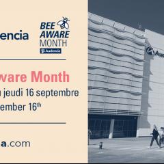 Bee Aware Month ! le mois de prévention et sensibilisation