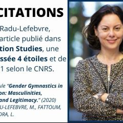 PUBLICATION RECHERCHE : Gender Gymnastics in CEO Succession: Masculinities, Femininities and Legitimacy.