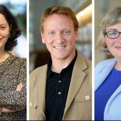 Three Professors at the Head of an international Journal