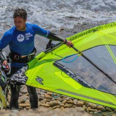Maxime se prépare pour l'International Windsurfing Tour !