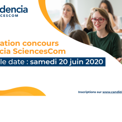 INFORMATIONS CONCOURS - NOUVELLE DATE