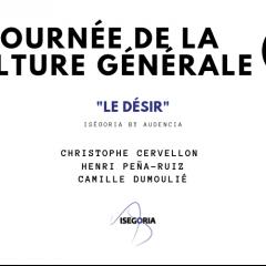 Journée de la culture générale 2019