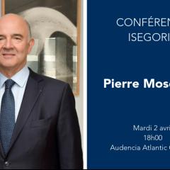Conférence Isegoria - Pierre Moscovici