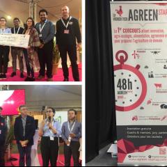 Les étudiants du MSc FAM remportent le premier prix à AGreenStratup !