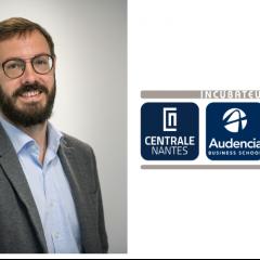 Un nouveau directeur à la tête de l'incubateur Centrale-Audencia-Ensa Nantes