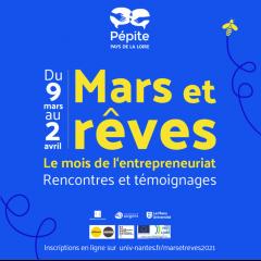 Mois de l'entrepreneuriat par le PEPITE Pays de la Loire