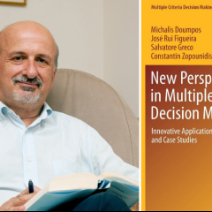 Professor Constantin Zopounidis, co-author of a major research book on multi-criteria analysis