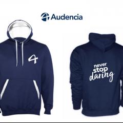 Les préventes sont lancées pour le nouveau sweat Audencia !